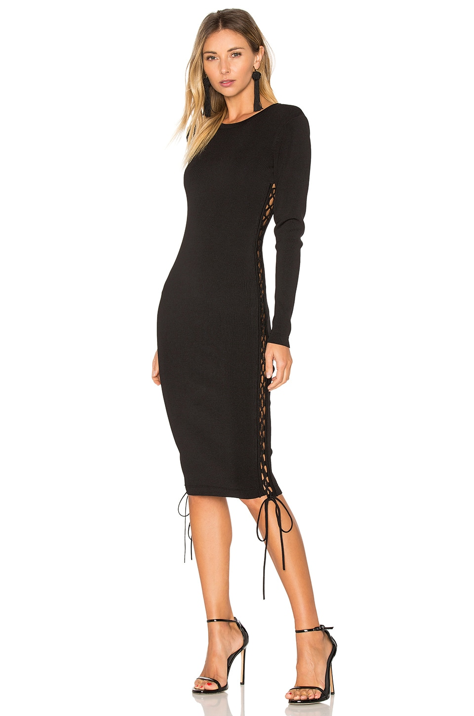 ale by alessandra x REVOLVE Tatiana Dress in Black Night