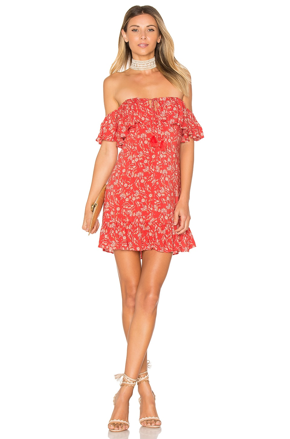 ale by alessandra x REVOLVE Lola Mini Dress in Red Margarita