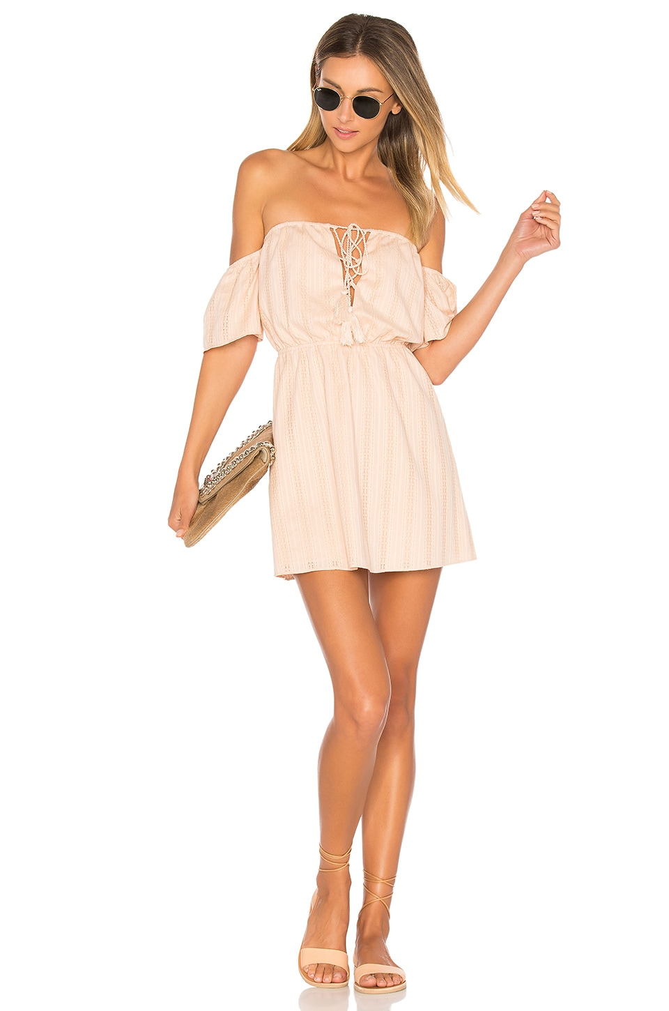 ale by alessandra x REVOLVE Gabriela Mini Dress in Pink Champagne