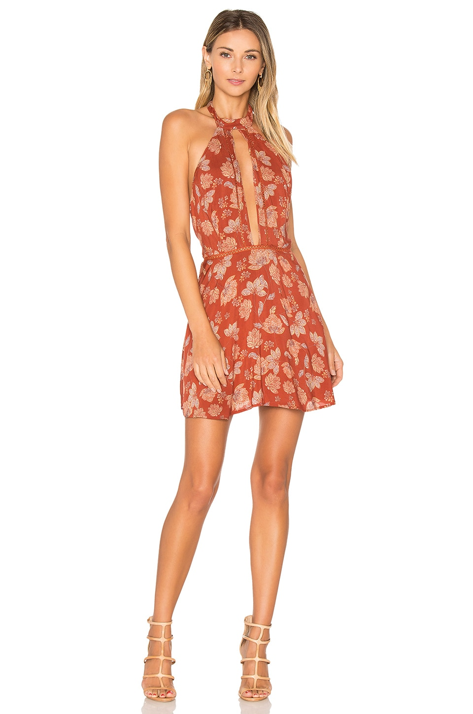 ale by alessandra x REVOLVE Bia Dress in Red Daffodil
