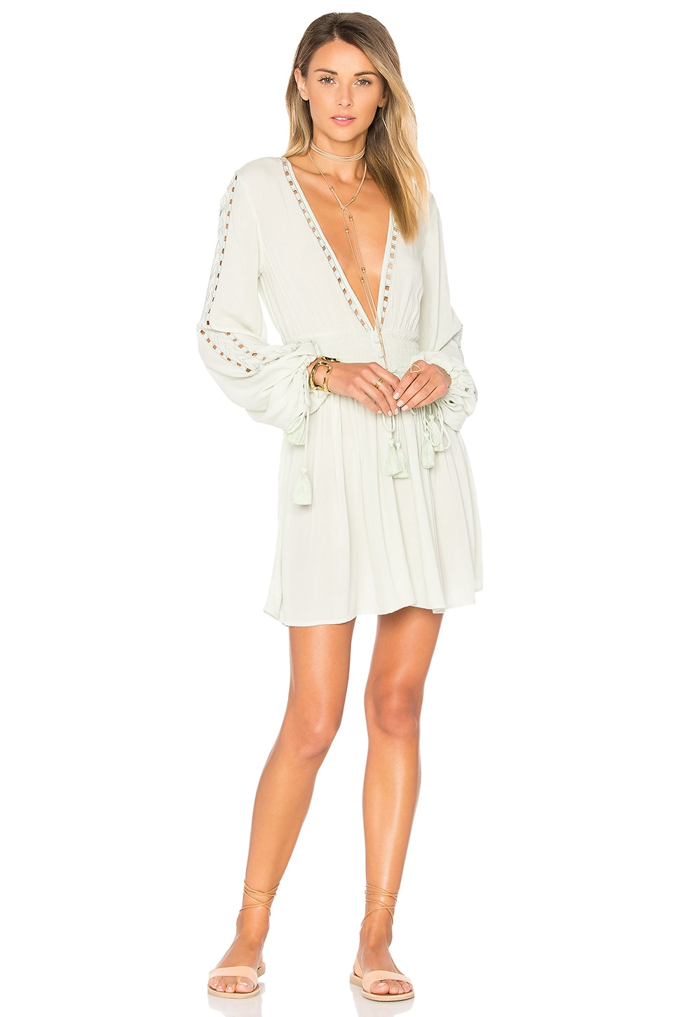 ale by alessandra x REVOLVE Eduarda Mini Dress in Sage
