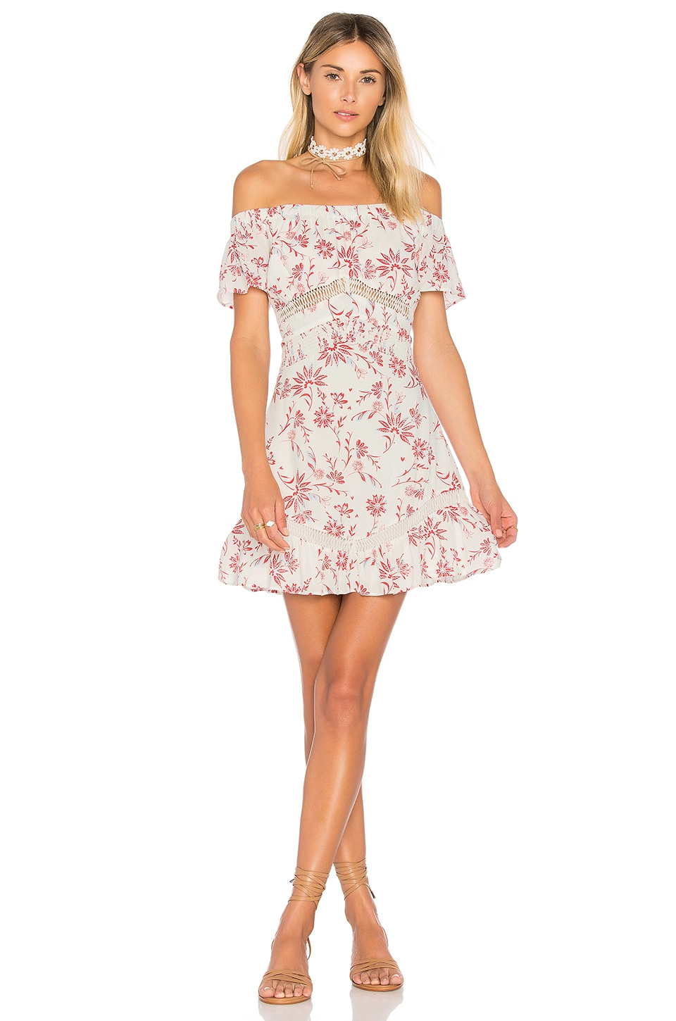 ale by alessandra x REVOLVE Rita Mini Dress in Poppy Floral