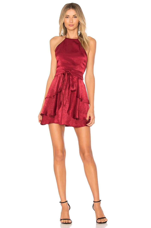 ale by alessandra x REVOLVE Zaira Dress in Wine