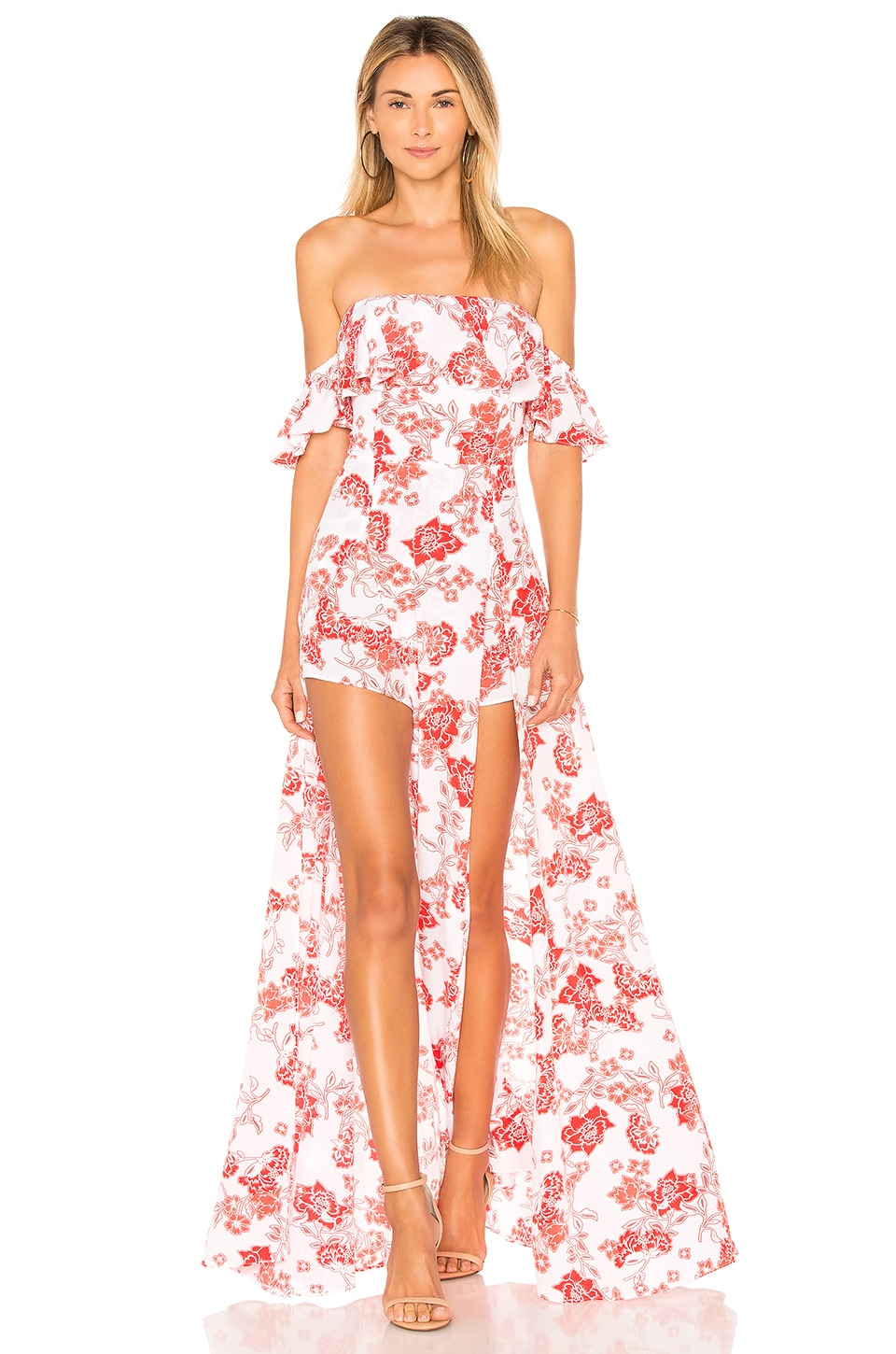 ale by alessandra x REVOLVE Betina Maxi Dress in Sweet Oleander