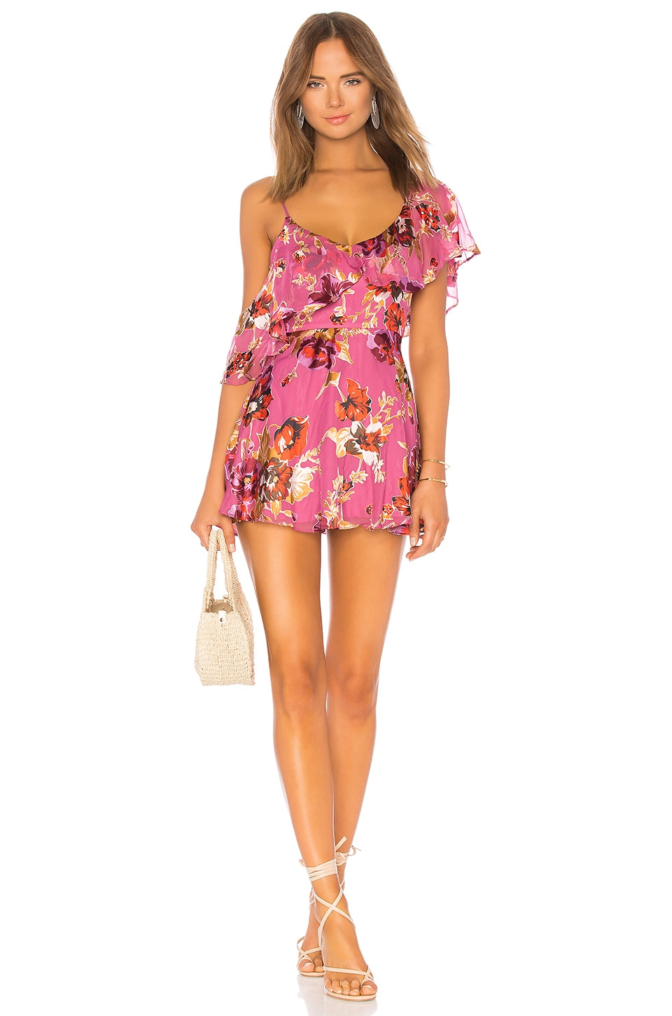 ale by alessandra x REVOLVE Xiomara Dress in Pink Blossom