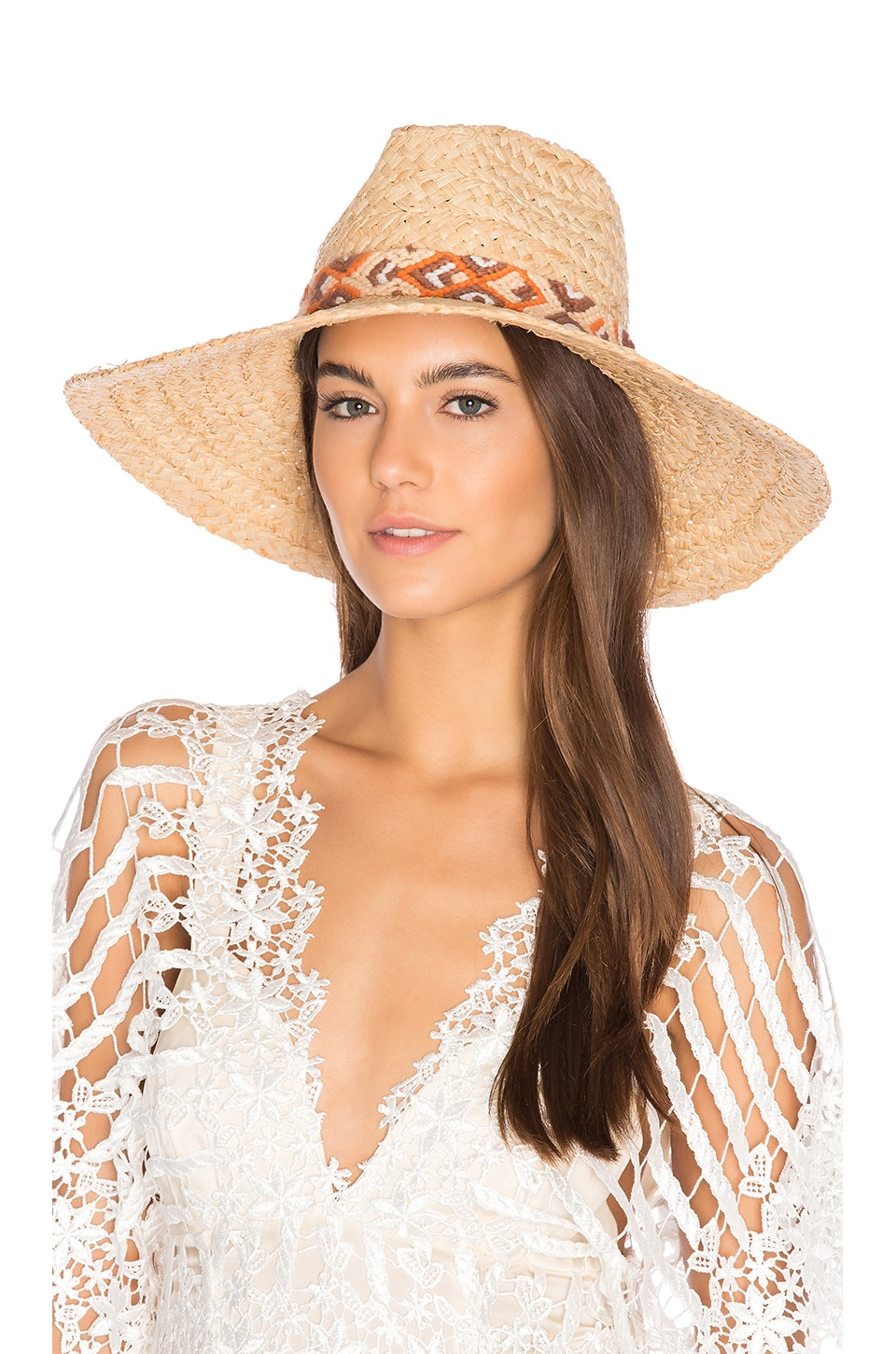 ale by alessandra Indio Hat in Natural