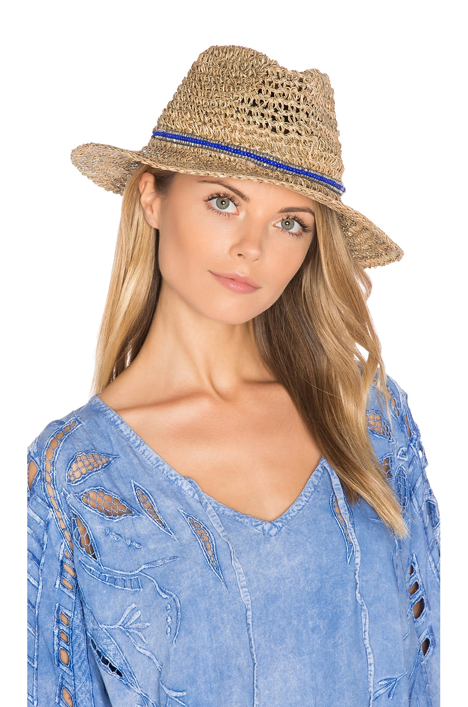 ale by alessandra Trancoso Hat in Natural & Royal