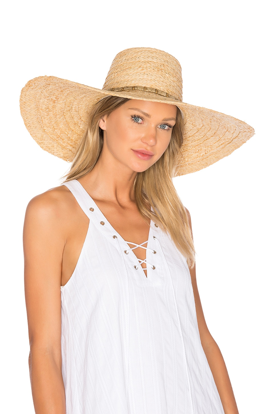ale by alessandra Palapa Hat in Natural