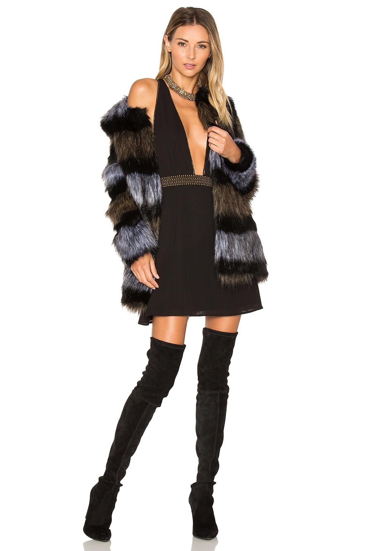 x REVOLVE Antonella Faux Fur Coat by ale by alessandra