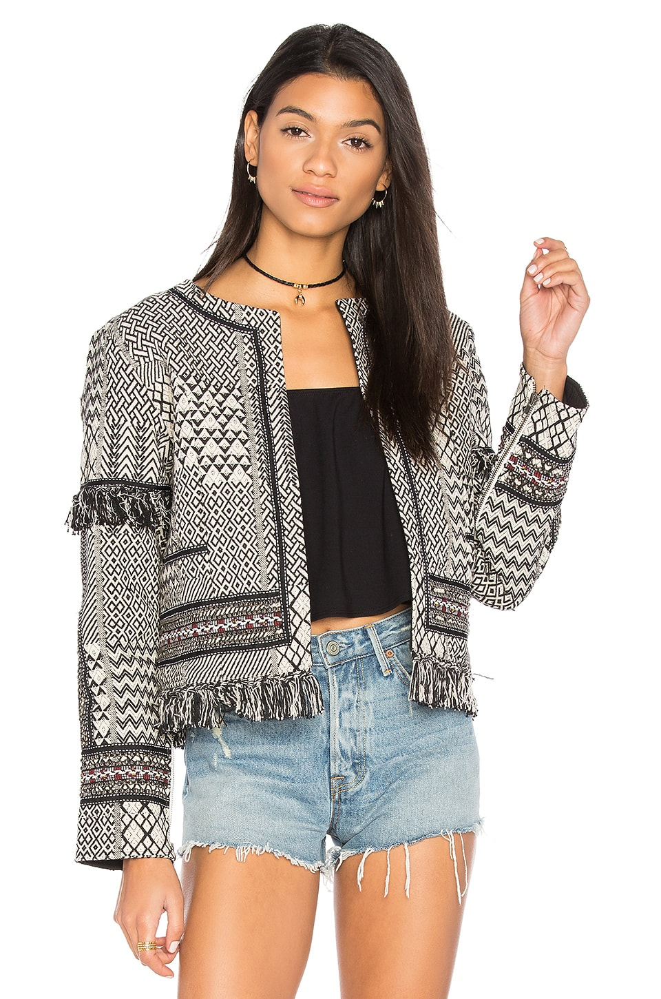 ale by alessandra Marcella Jacket in Tribal Ink