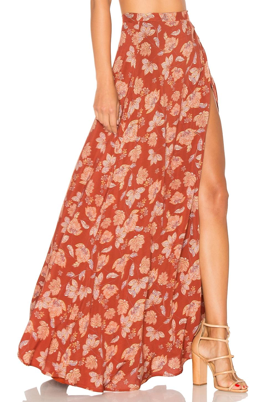 ale by alessandra x REVOLVE Brigida Maxi Skirt in Red Daffodil