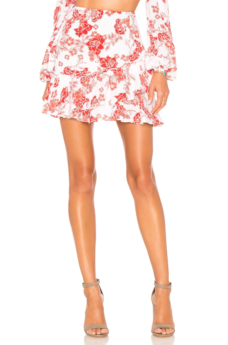 ale by alessandra x REVOLVE Andre Skirt in Sweet Oleander