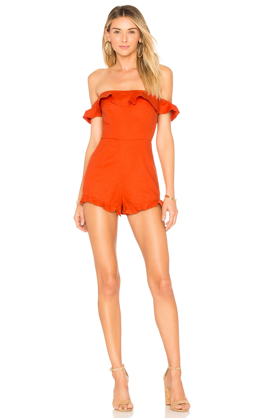 X REVOLVE MERCE ROMPER