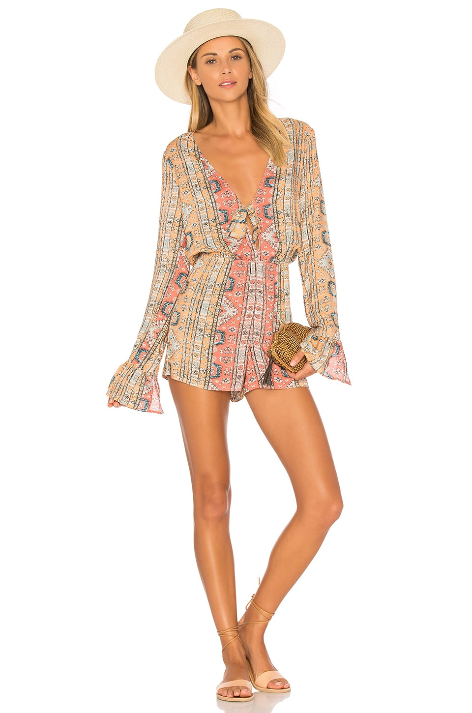 ale by alessandra Livia Romper in Tapestry