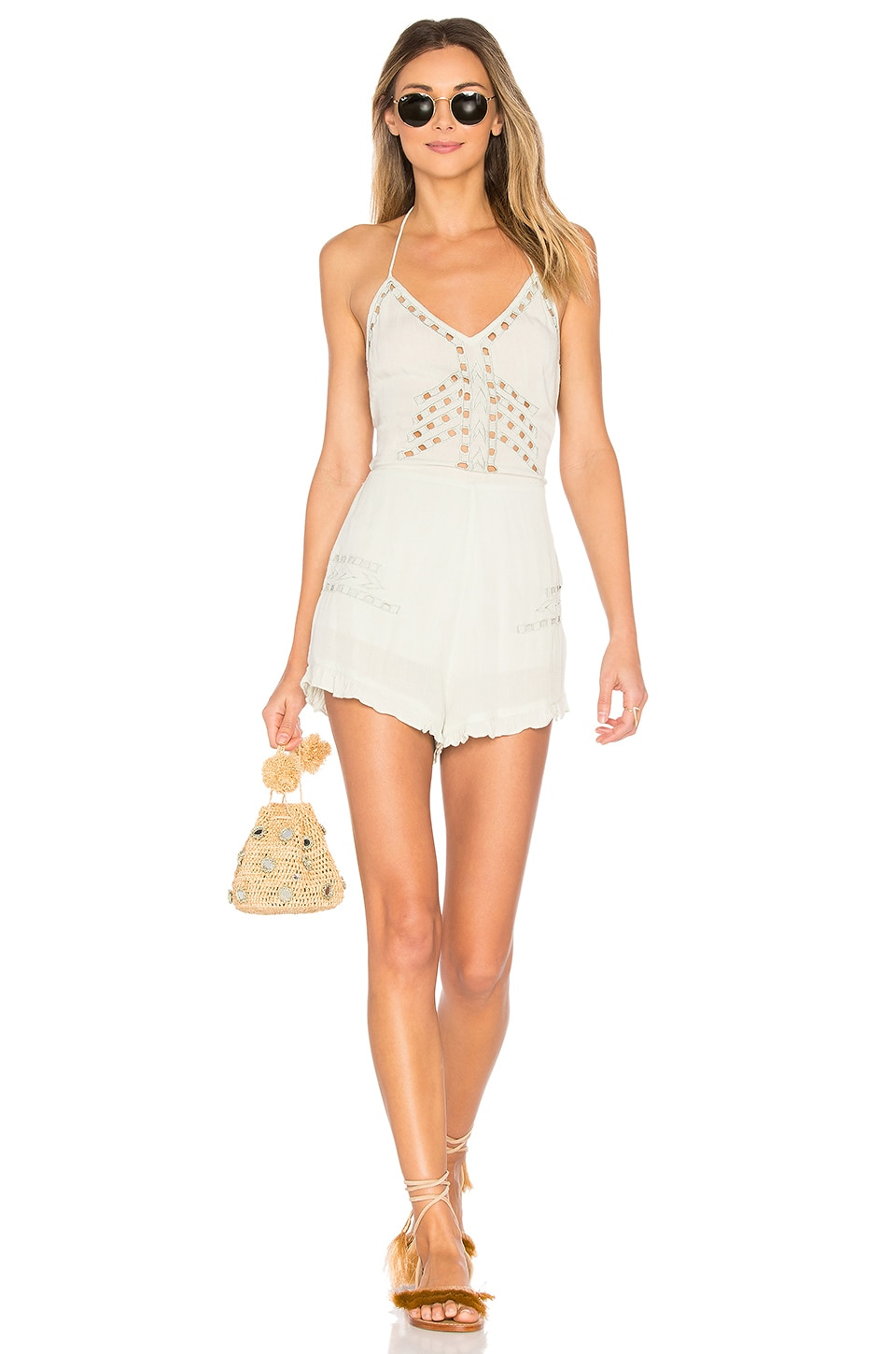 ale by alessandra Carolina Romper in Sage
