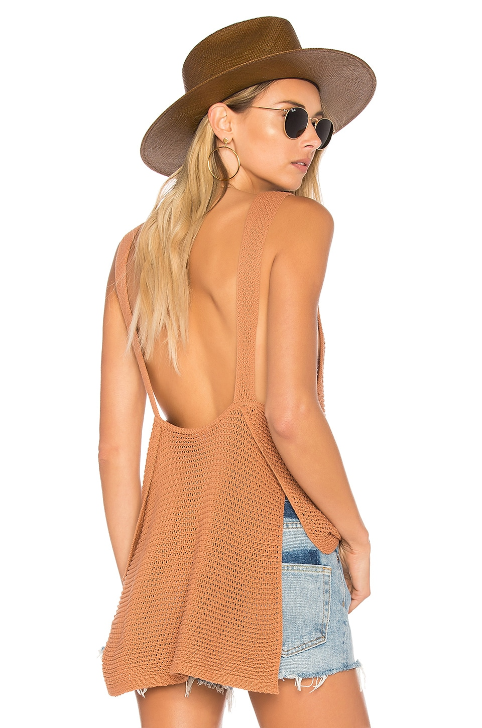 ale by alessandra x REVOLVE Noa Knit Tank in Sunkissed