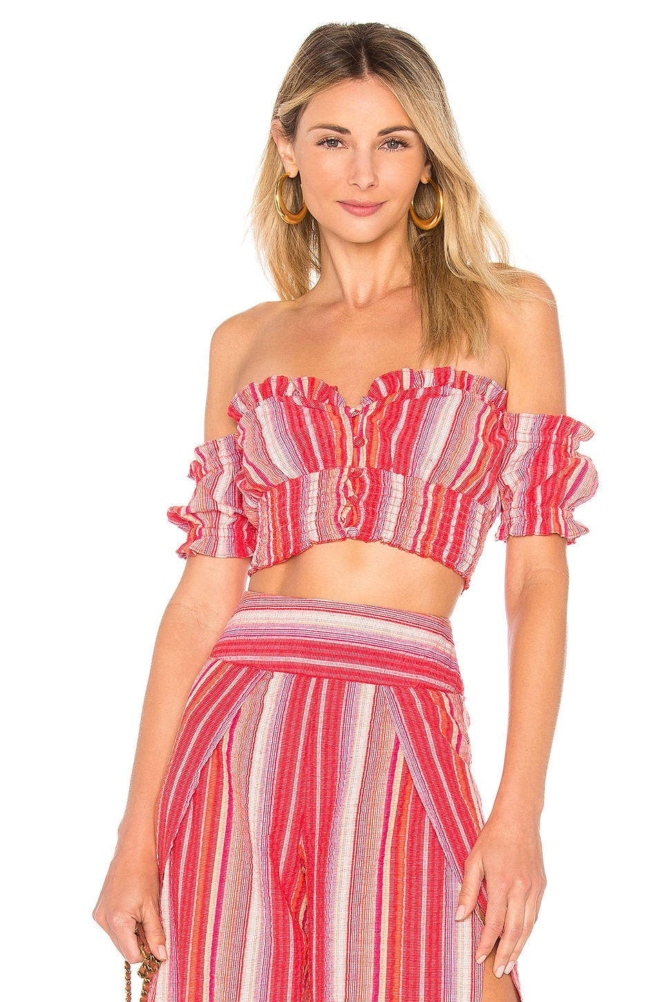 ale by alessandra x REVOLVE Paulita Top in Red Rainbow