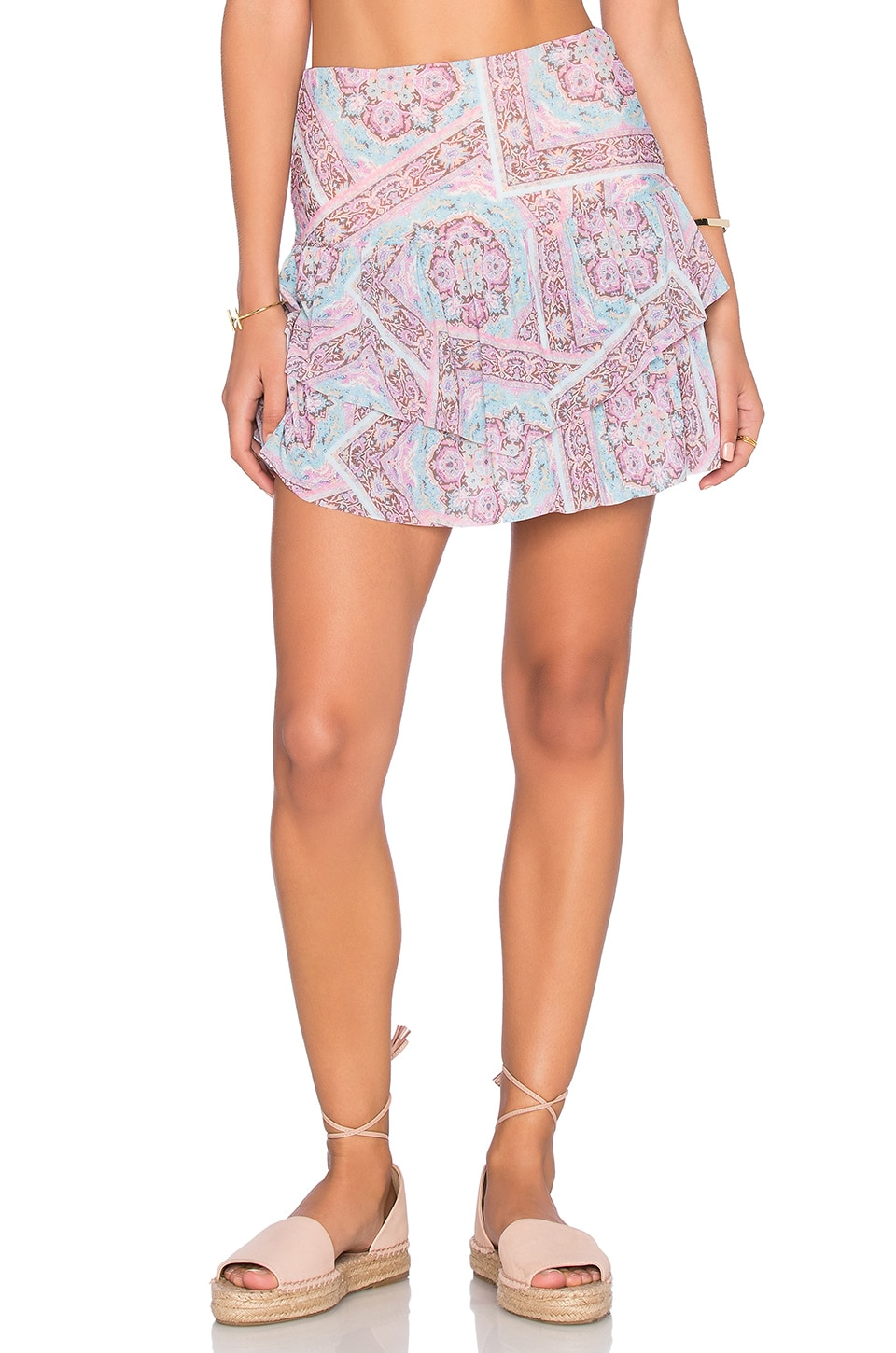 Prairie High Waist Mini Skirt by ale by alessandra