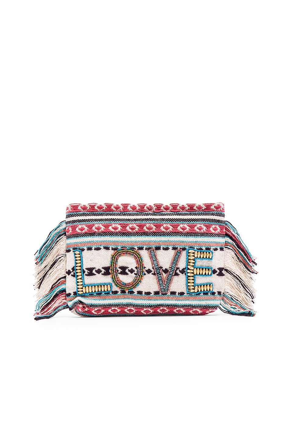 ale by alessandra All You Need Is Love Clutch in Multi