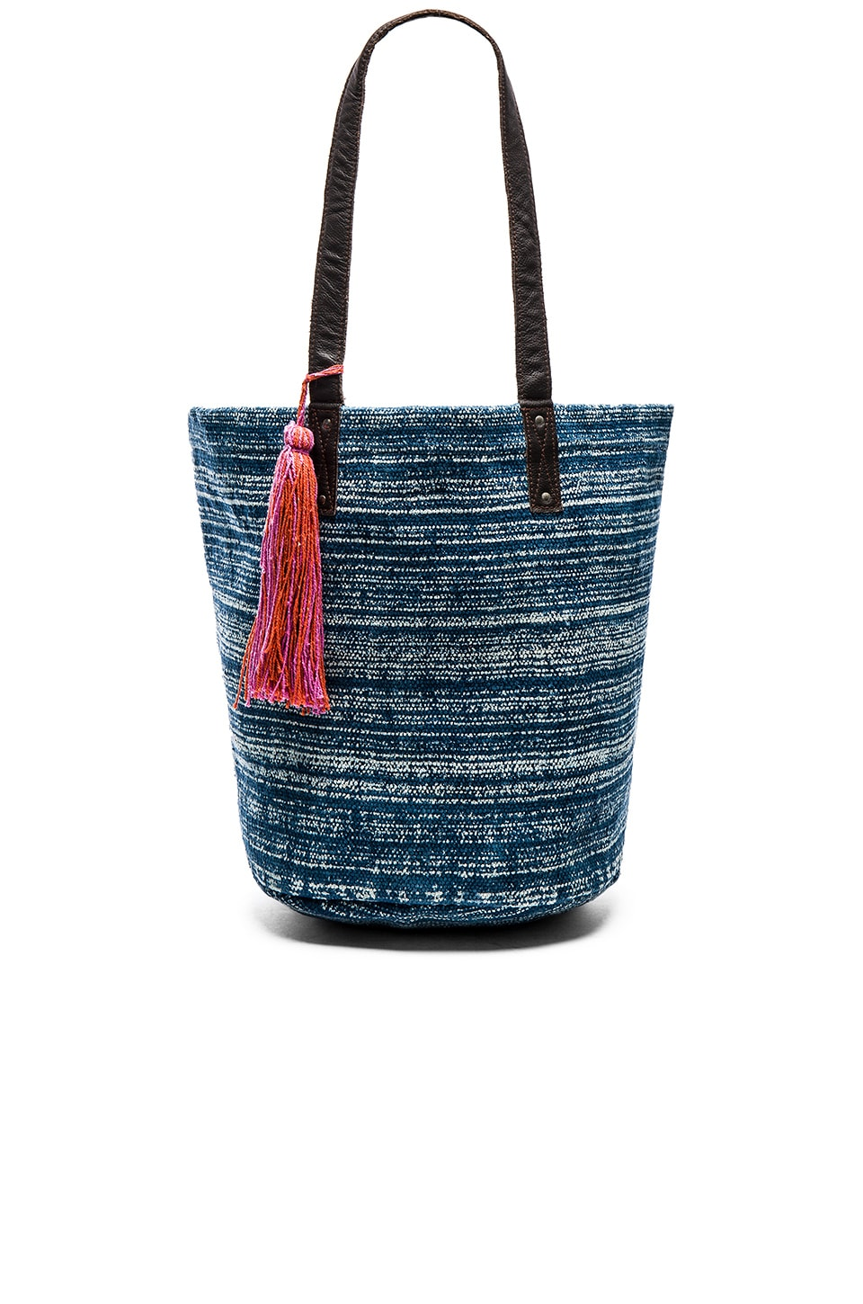 ale by alessandra Ghana Tote in Blue & White