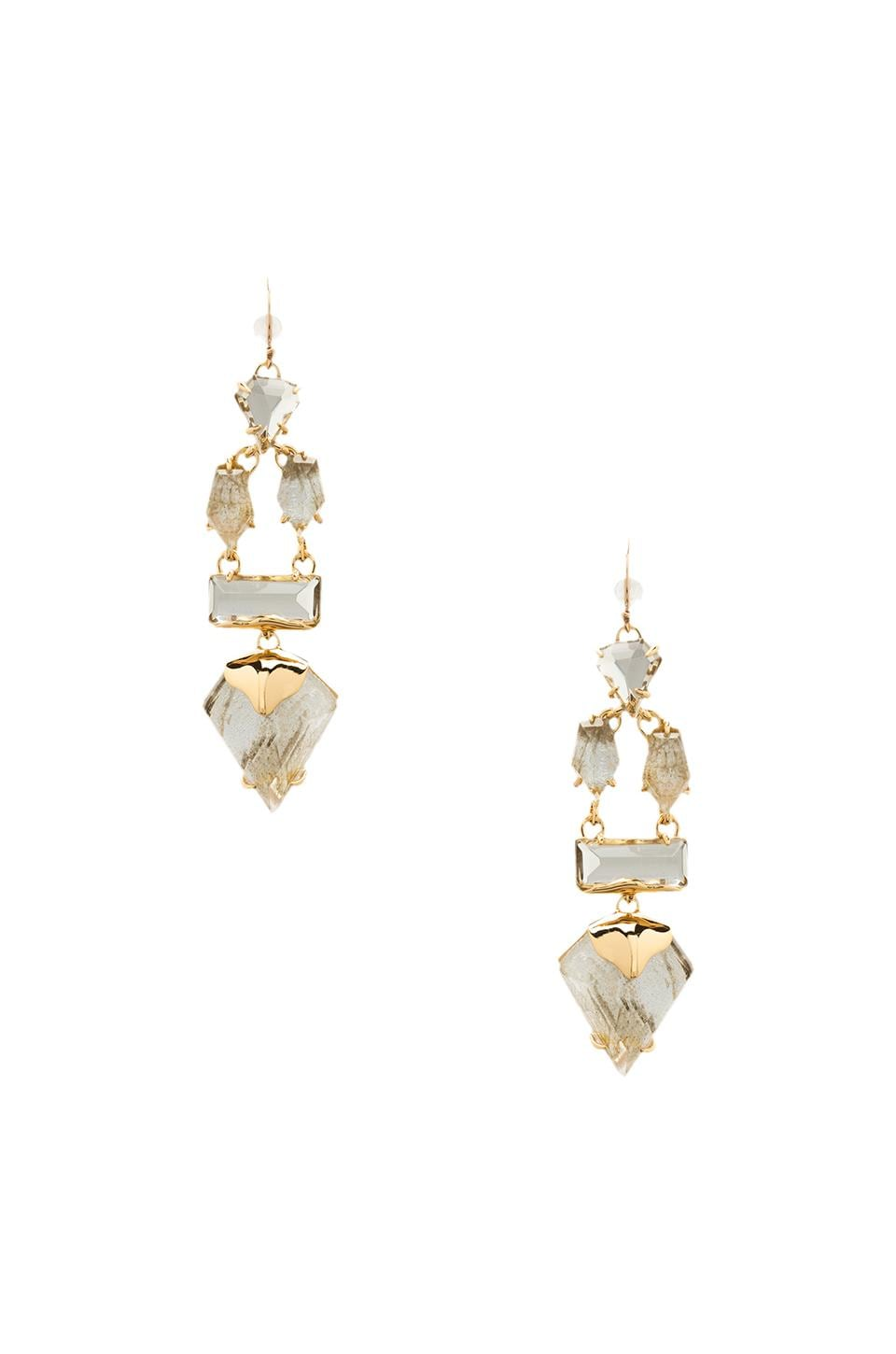 Alexis Bittar Dangling Rigel Wire Earring in Doublet