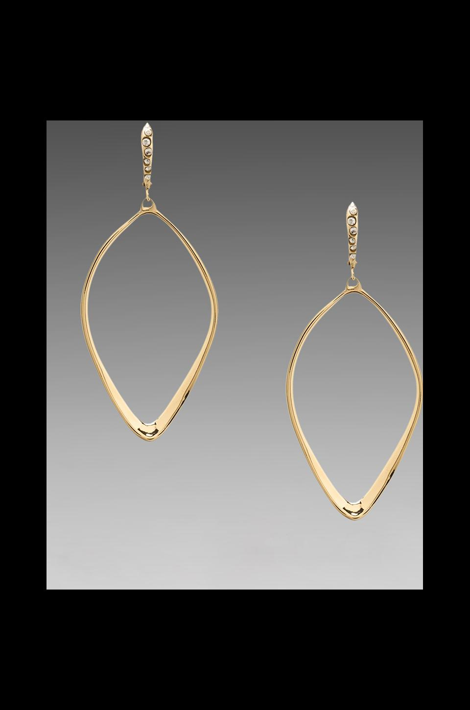 Alexis Bittar Sculpted Aura Tear Earring in Gold