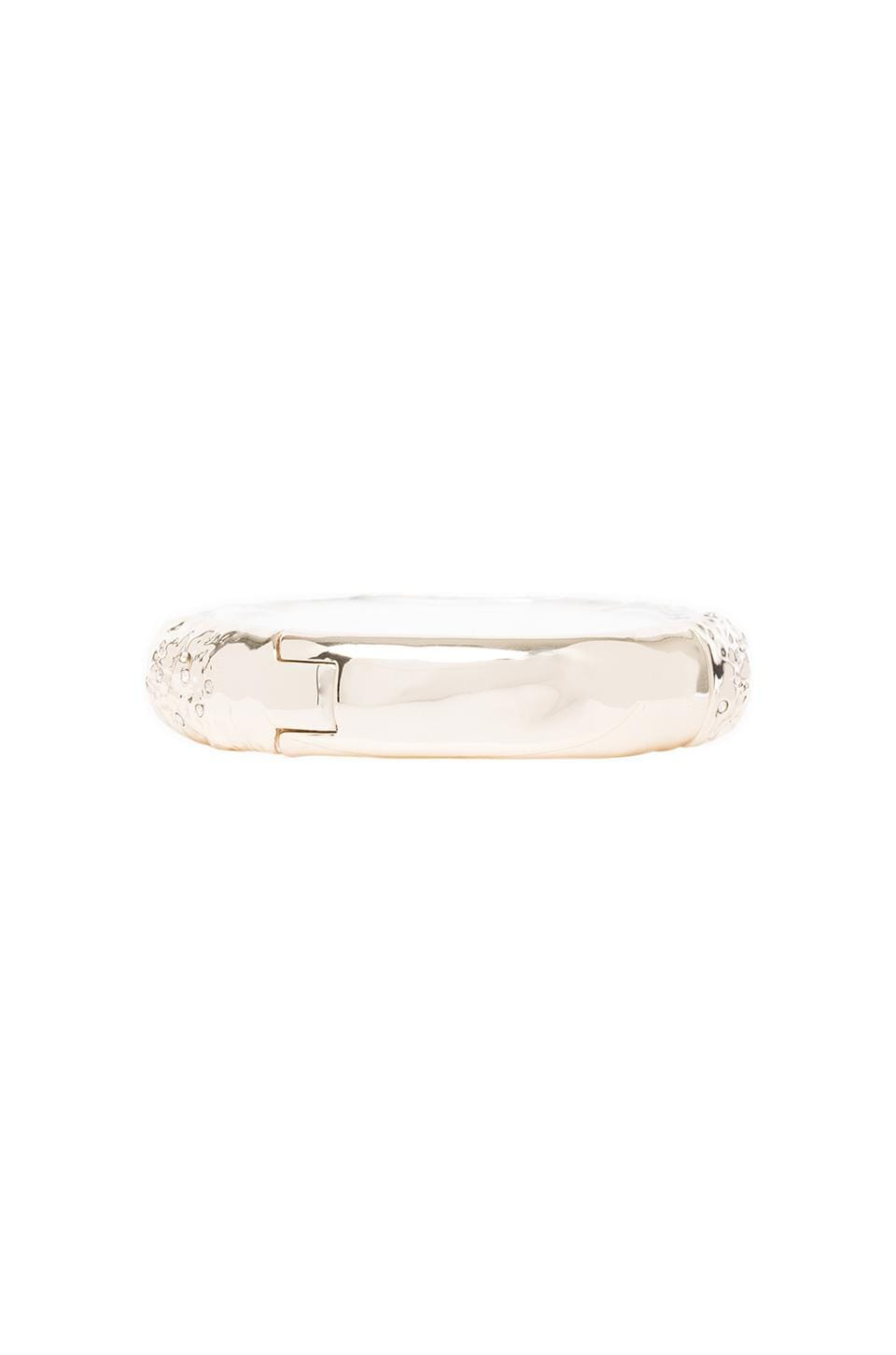 Alexis Bittar Hinge Bangle in Gold