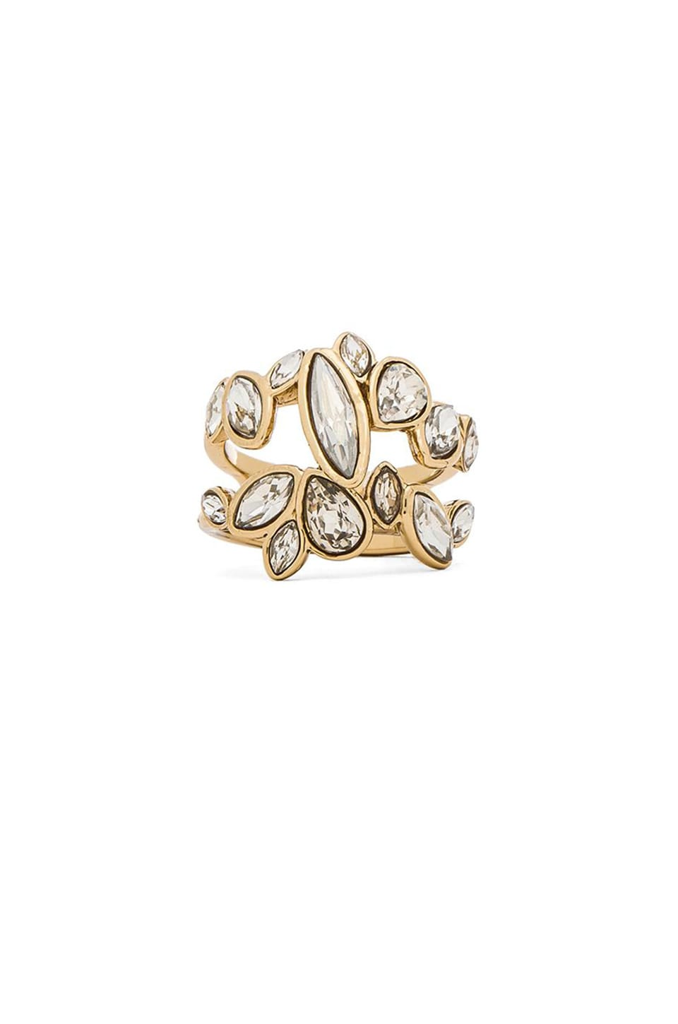 Alexis Bittar Marquis Cluster Ring in Starlight