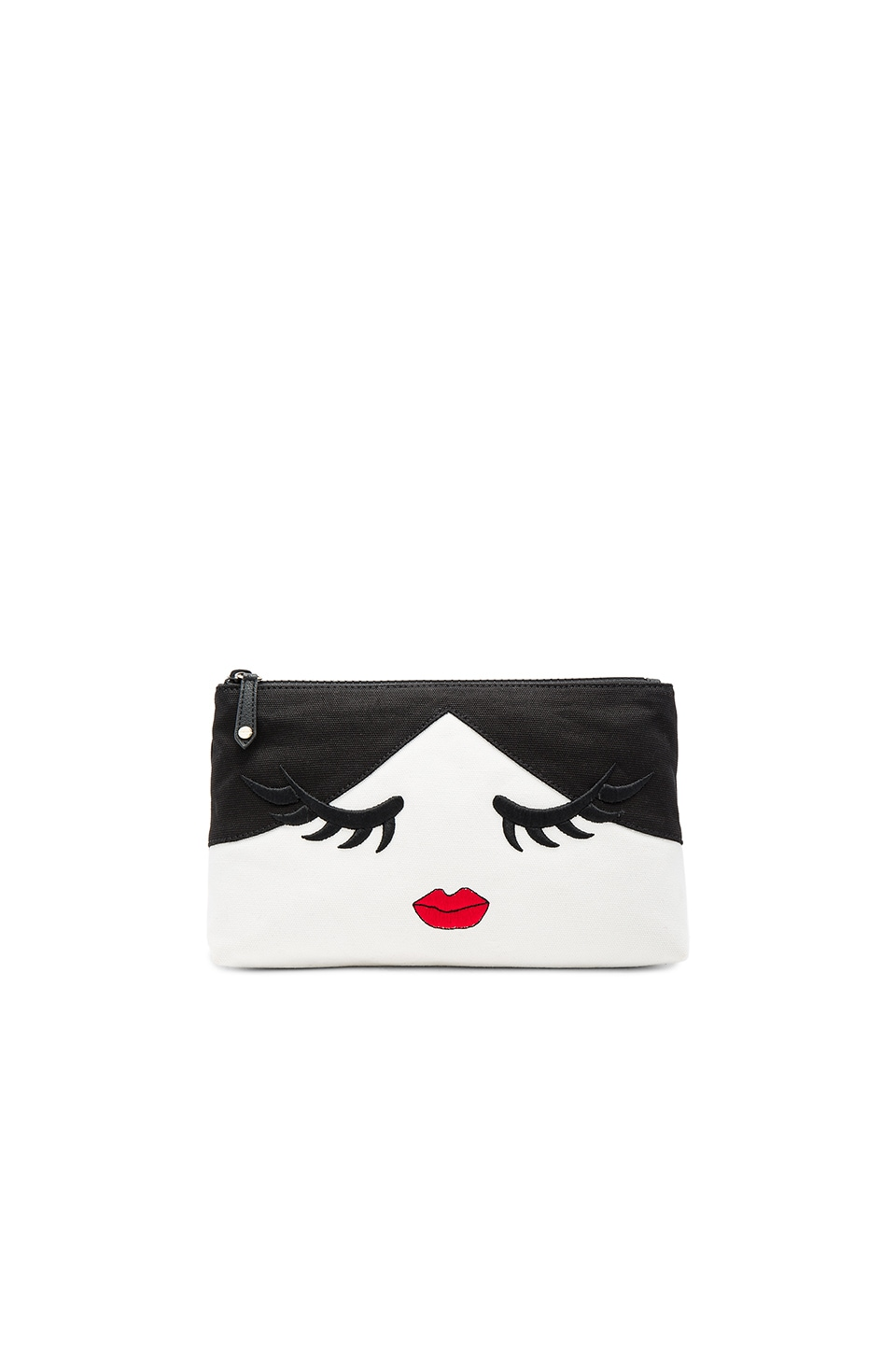 Alice + Olivia Stace Face Wink Cosmetic Bag in Multi