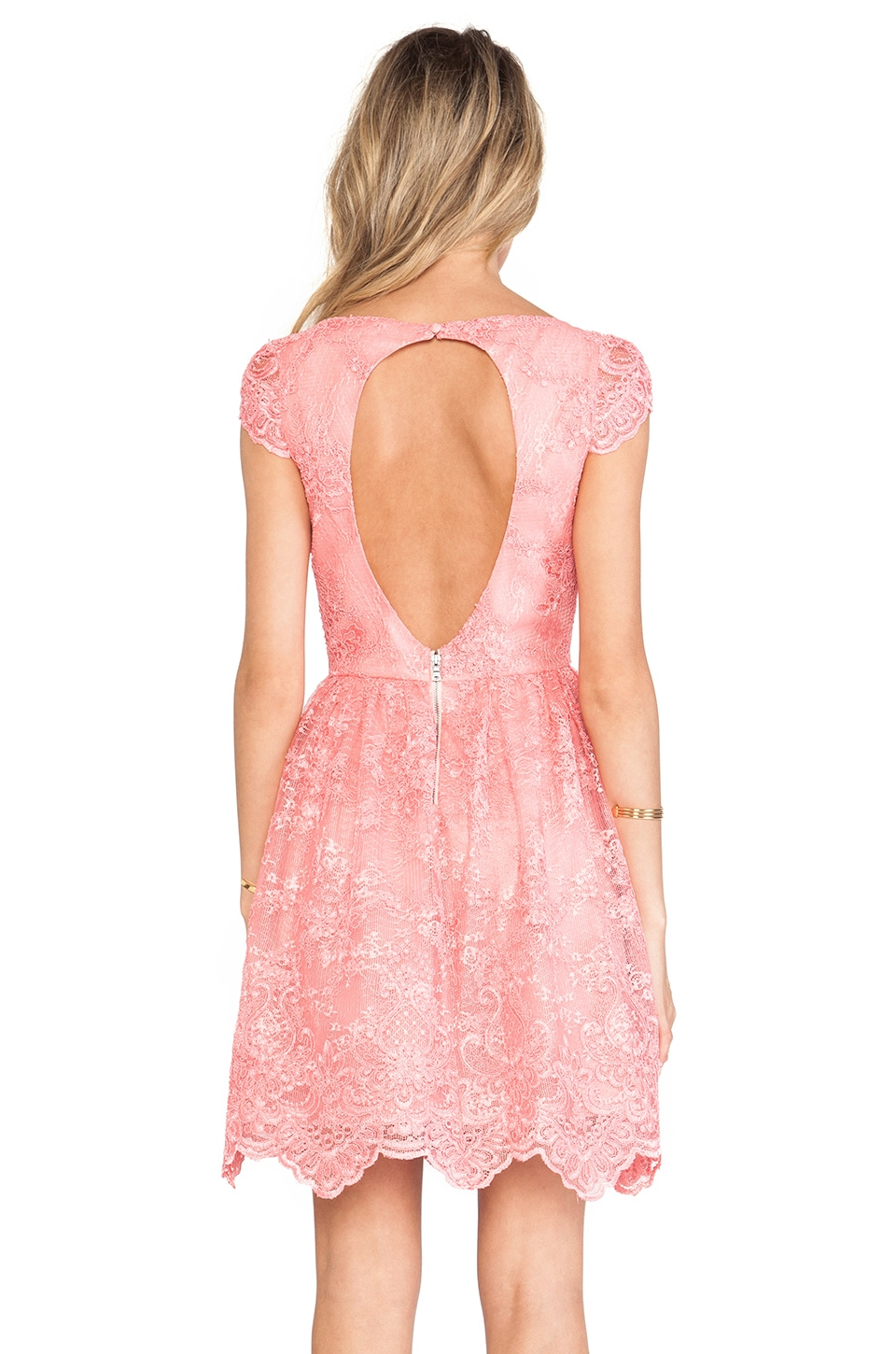Alice And Olivia Pink Dress