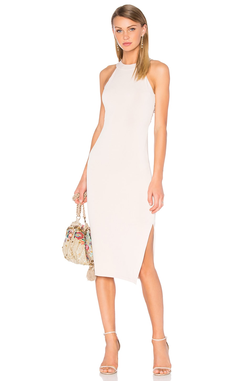 Lumi Cross Back Dress by Alice + Olivia