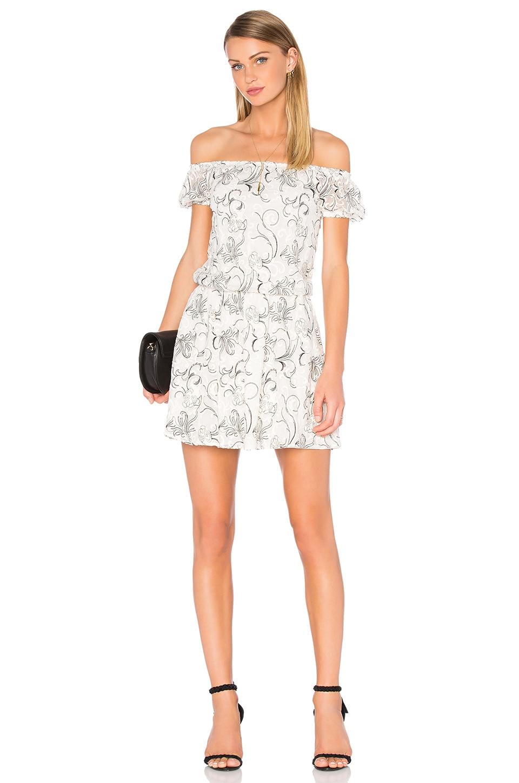 Janell Lace Off Shoulder Dress by Alice + Olivia