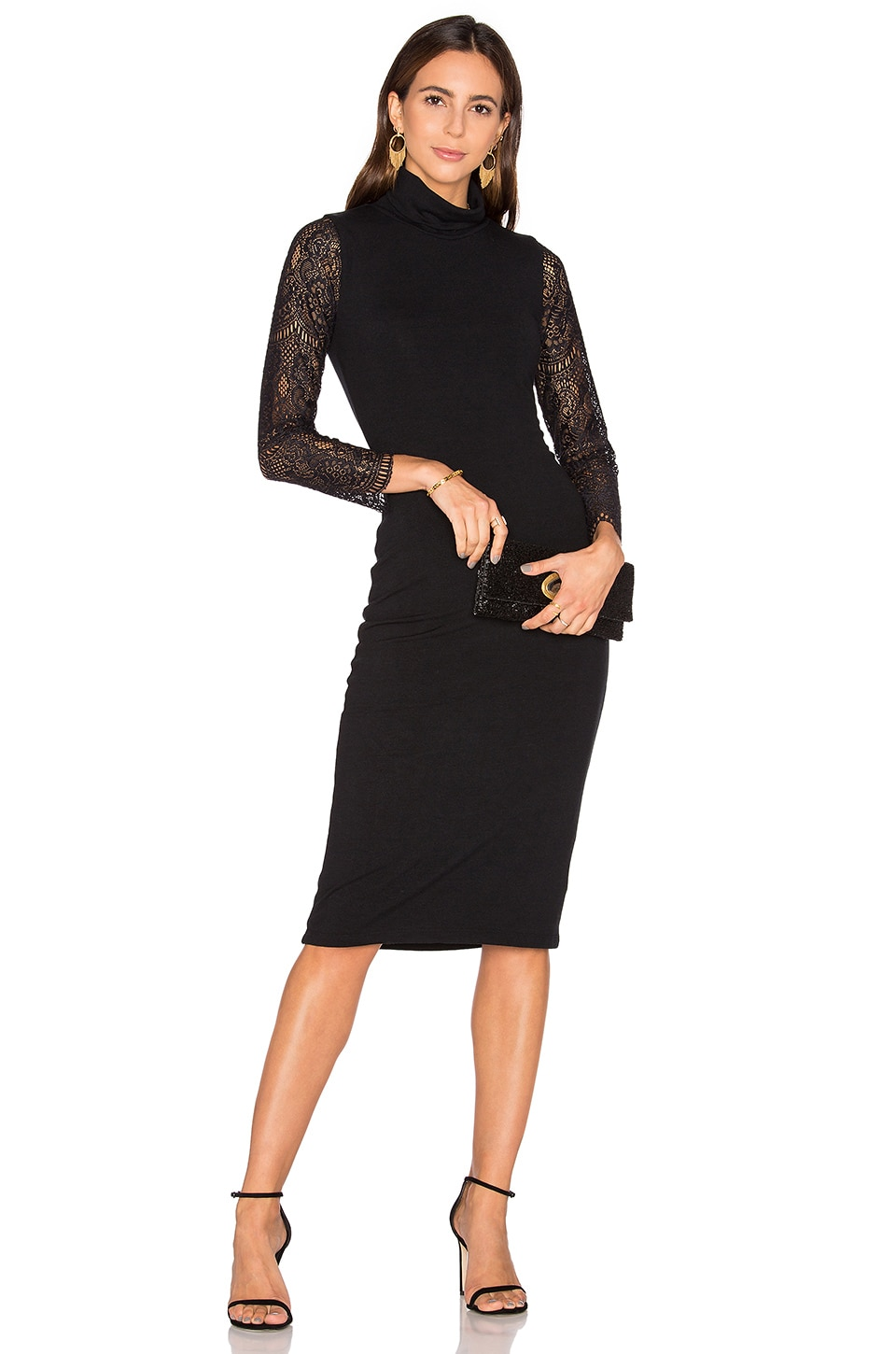 Kala Lace Midi Dress by Alice + Olivia