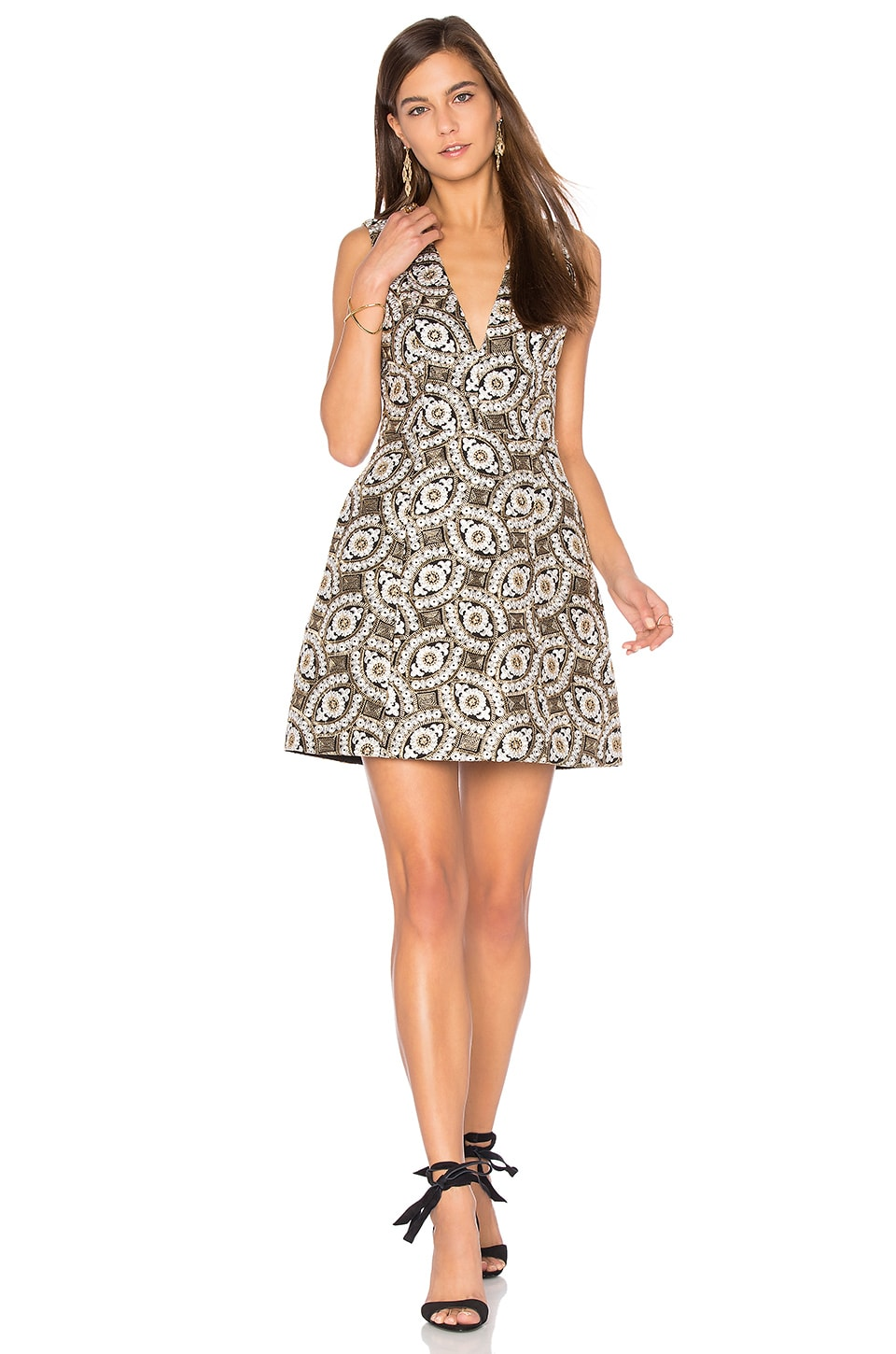 Patty Embroidered Dress by Alice + Olivia
