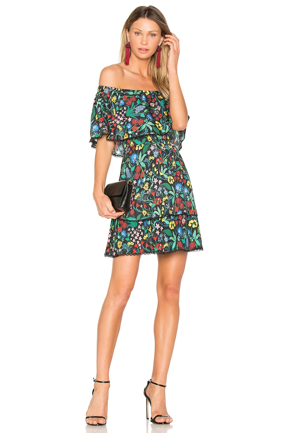 buy Tylie Dress by Alice + Olivia dresses online shopping