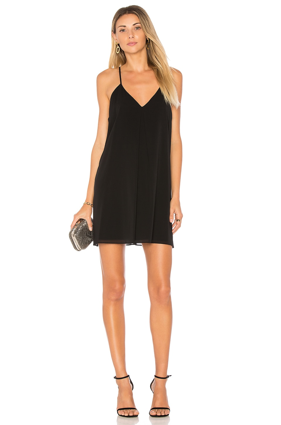 Alice + Olivia Fierra Dress in Black