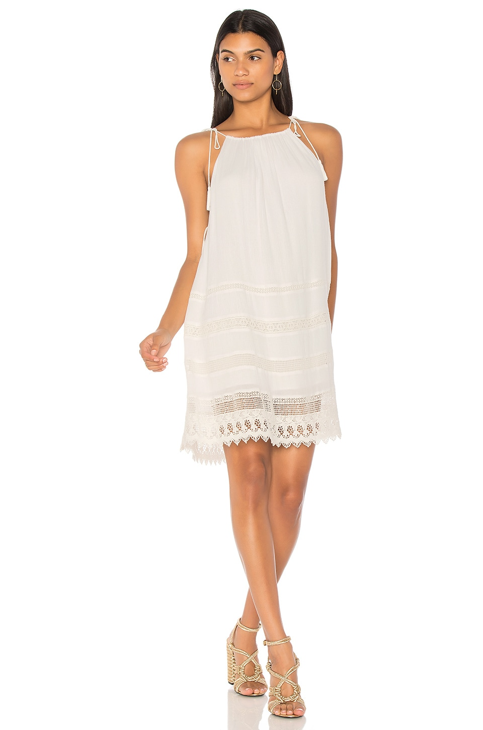 Alice   Olivia Danna Dress in White | REVOLVE