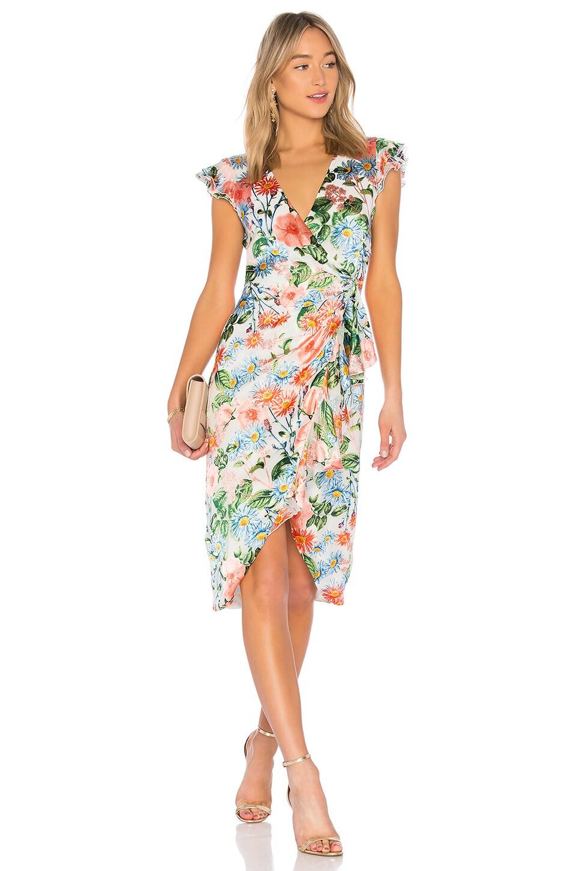 Alice + Olivia Garnet Dress in Floral Fields | REVOLVE