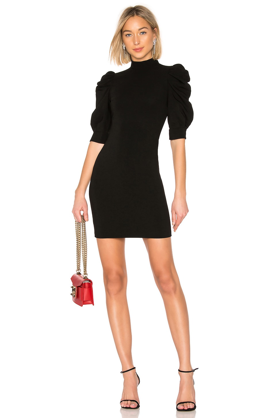 Alice + Olivia Brenna Dress in Black