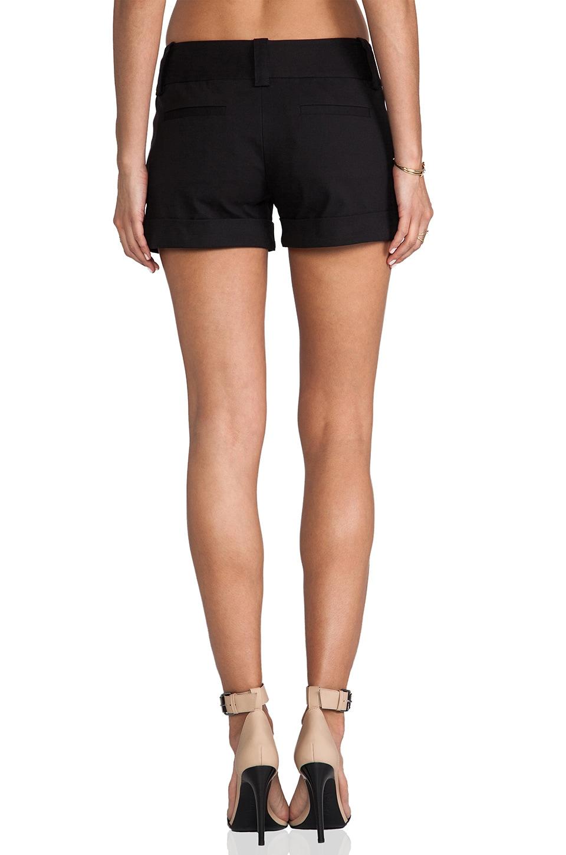 Alice + Olivia Cady Cuff Short in Black