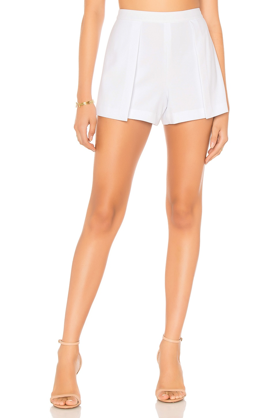 Larissa Open Pleat Front Short