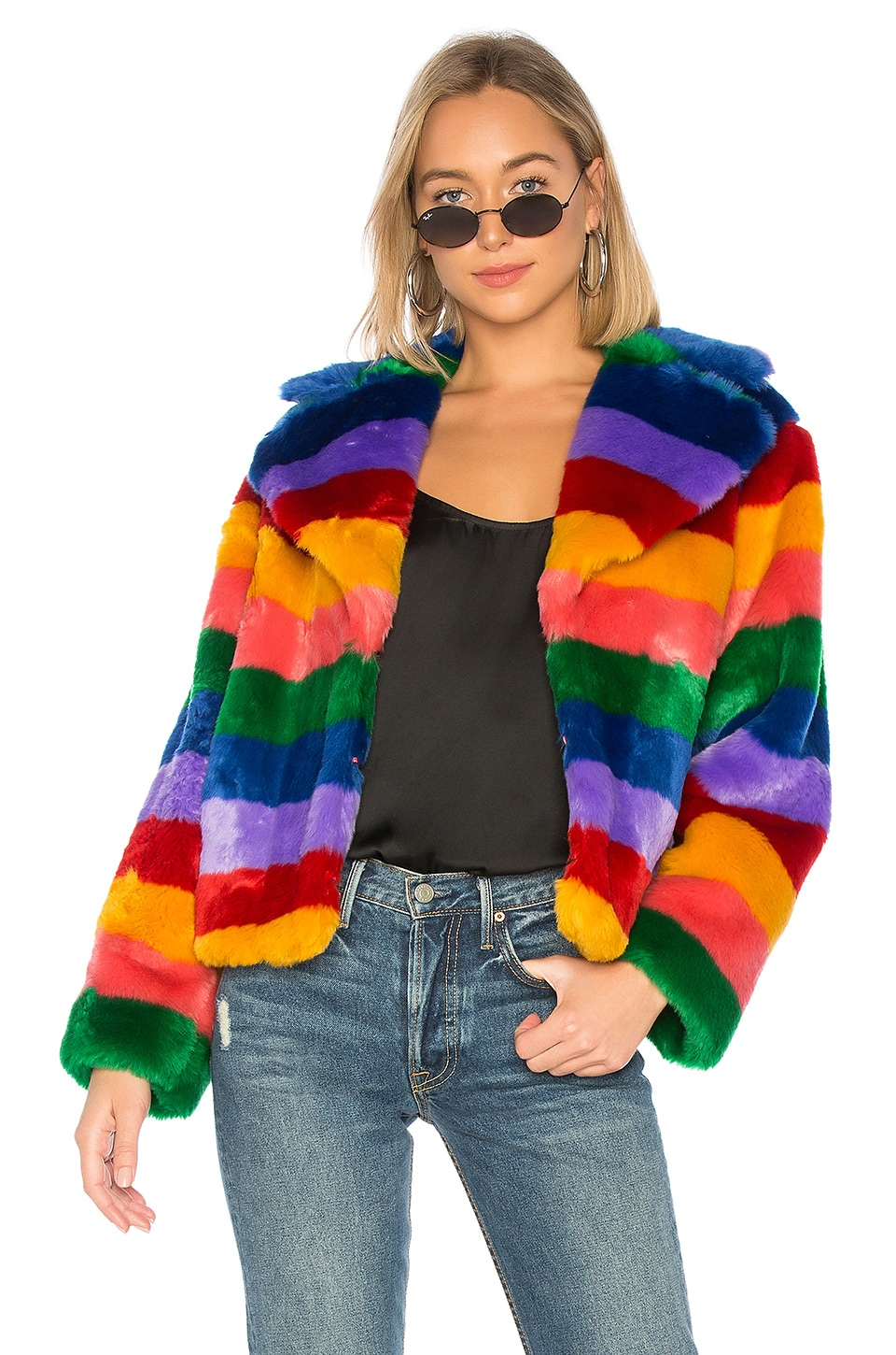 Thora Faux Fur Coat