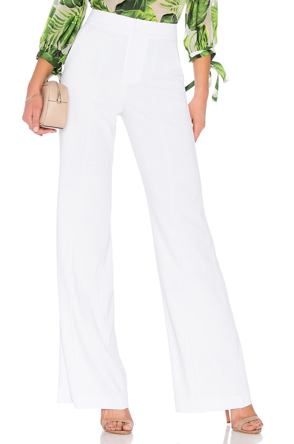 Dylan High Waisted Fitted Pant