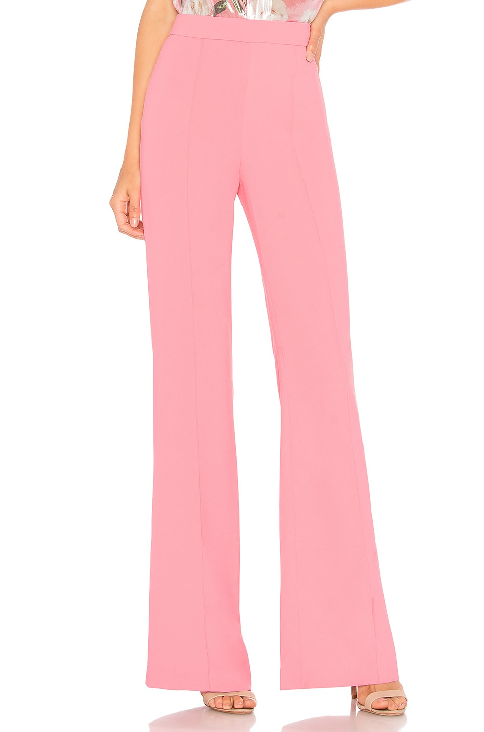Alice + Olivia Jalisa Pant in Bubblegum
