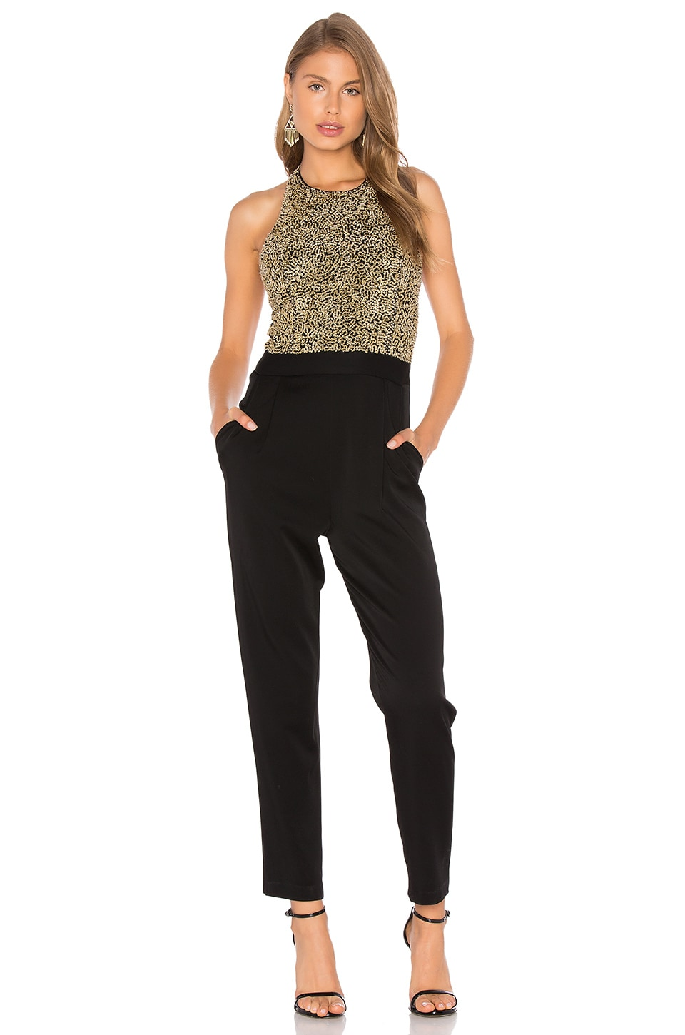 Buy Alyce Paris Women's Jumpsuit In Black Gold. Similar products also available. SALE now on!Price: $