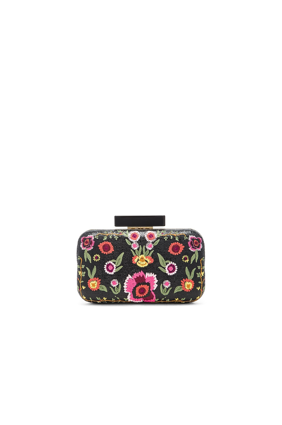Alice + Olivia Bohemian Large Clutch in Multi