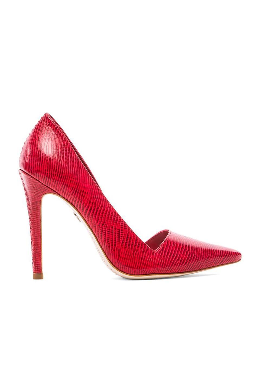 Alice + Olivia Makayla Heel in Red
