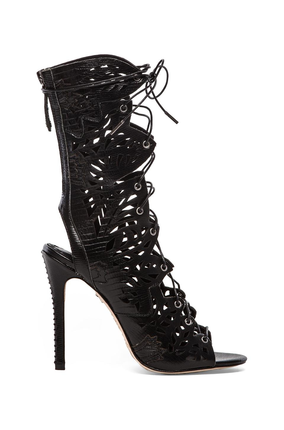 Alice + Olivia Georgia Heel in Black