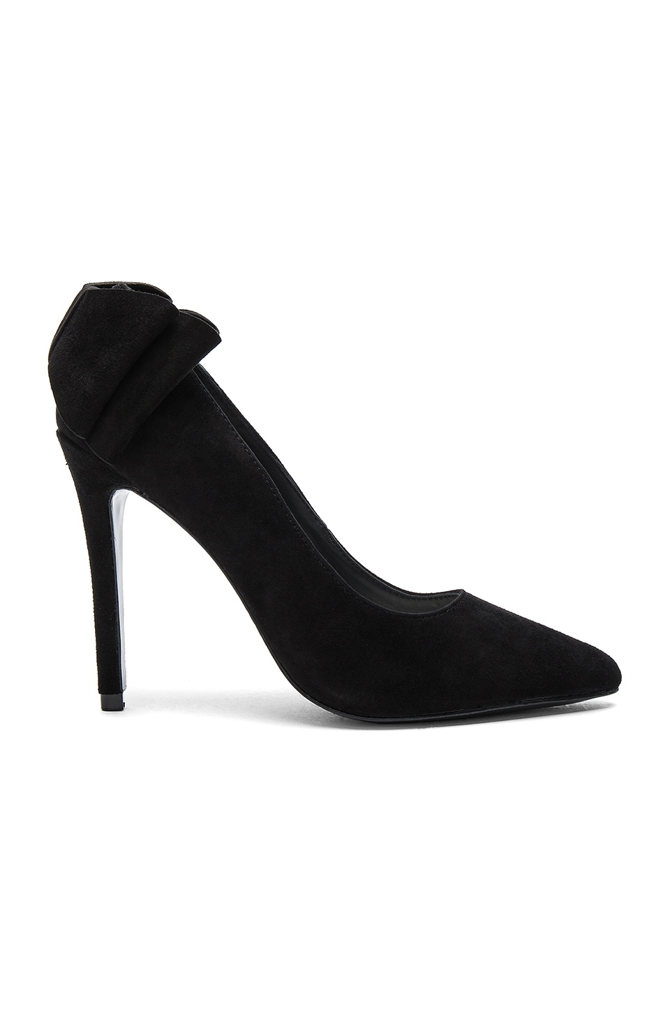 Dayna Suede Bow Back Heel by Alice + Olivia