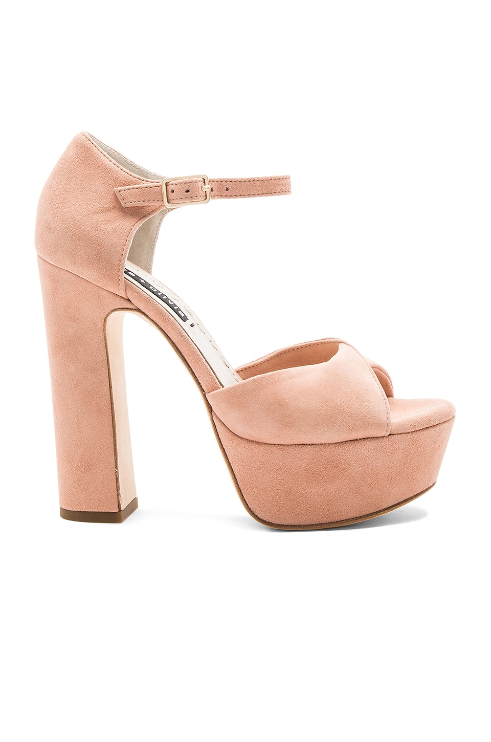 Alice + Olivia Layla Platform in Dusty Rose